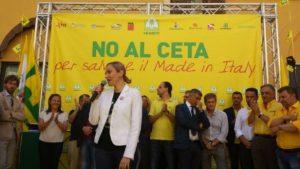 CETA, no alla ratifica: protesta a Montecitorio con associazioni, sindacati e Regioni