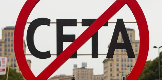 Contro l'accordo di libero scambio Ue-Canada