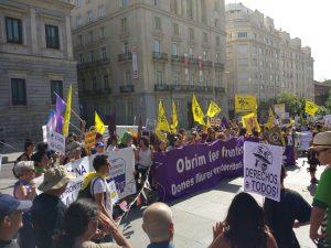 Madrid acomiada la caravana que surt a la Frontera Sud