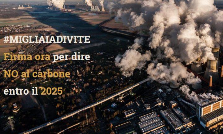 Le associazioni ambientaliste promuovono stopcarbone2025