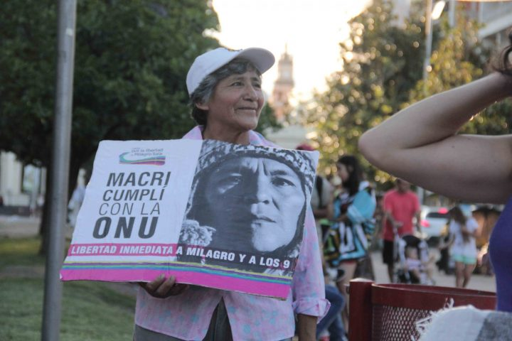 Nouvelle campagne internationale pour la libération de Milagro Sala