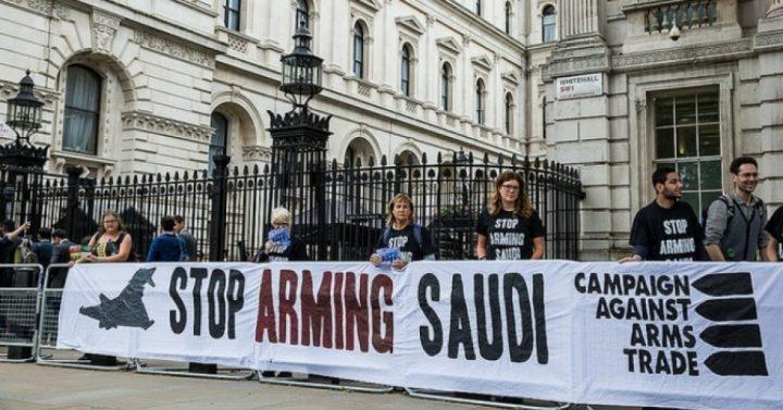 Σταματήστε να πουλάτε όπλα στη Σαουδική Αραβία!