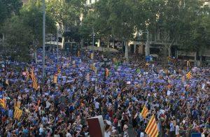 """Demonstration gegen die wahren Ursachen von Terror in Barcelona: """"Wir haben keine Angst"""""""