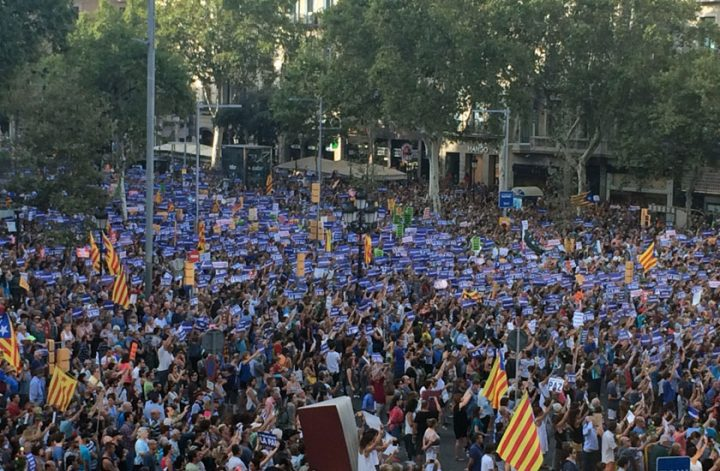 "Barcelona's transferential demonstration: ""We are not afraid"""