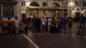 Mai più Hiroshima e Nagasaki – piazza Carignano Torino