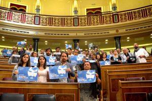 Congreso español frena declaración de Unidos Podemos sobre Santiago Maldonado