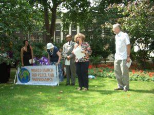 Día de Hiroshima 2009: Lanzamiento de la Marcha Mundial por la Paz y la No Violencia