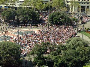 No tenim por! Massiva resposta ciutadana als atemptats a Catalunya