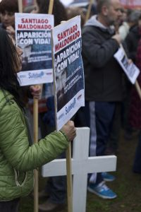 Santiago Maldonado lleva tres semanas desaparecido en Argentina