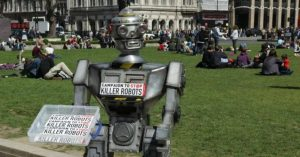 "Demanding ban on killer robots, tech experts warn of opening ""this Pandora's box"""