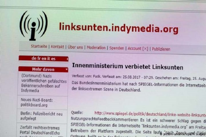 Prohíben Indymedia en Alemania