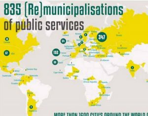 Nouvelle publication : 835 cas de remunicipalisation dans le monde montrent comment élus et citoyens peuvent réécrire l'avenir des services publics