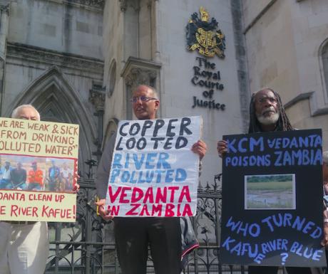 Londres encubre racismo ambiental en respetabilidad. Los habitantes de Zambia luchan en contra