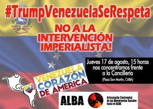 Frente a las amenazas de Trump, el continente entero es Venezuela