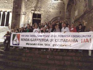 Acte festiu de celebració per l'inici de la Renda Garantida de Ciutadania
