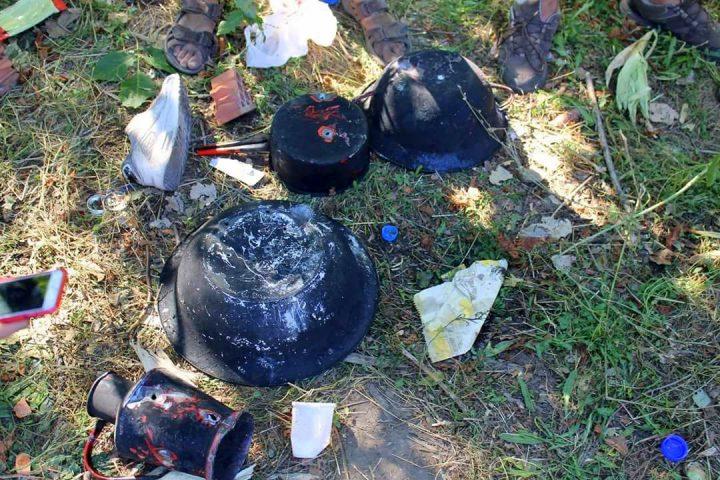 1-fotos intimidaci+¦n policia subotica. Disparos a utensilios para cocinar(5)