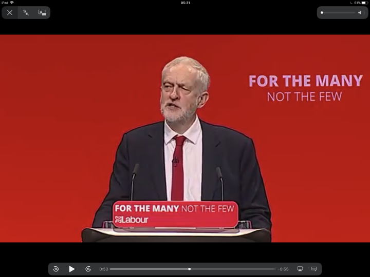 Shredding 'failed dogmas of neoliberalism,' Corbyn charts bold new vision for UK