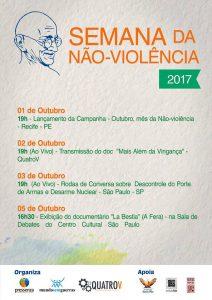 Semana de la no violencia 2017