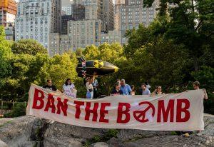 Une bombe nucléaire sur New York peut tuer 6 millions de personnes en une seule fois. C'est le moment de signer le traité sur leur interdiction.