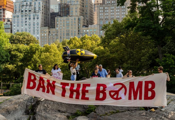 A nuclear bomb on New York can kill 6 million people in one go.  Time to sign the Ban Treaty