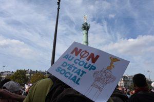 Manifestaciones contra el «golpe de Estado social», una apuesta acertada