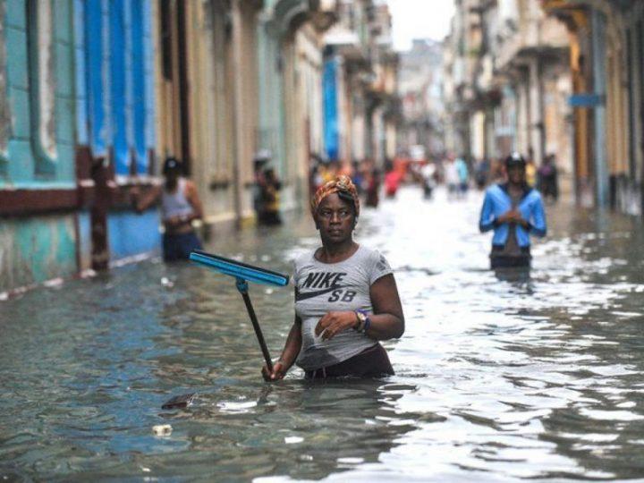 Cuba: crónica del paso de un huracán destructor. Cuantiosos daños pero ni una víctima