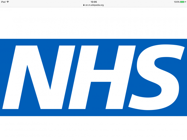 A rare piece of good news for the UK National Health Service
