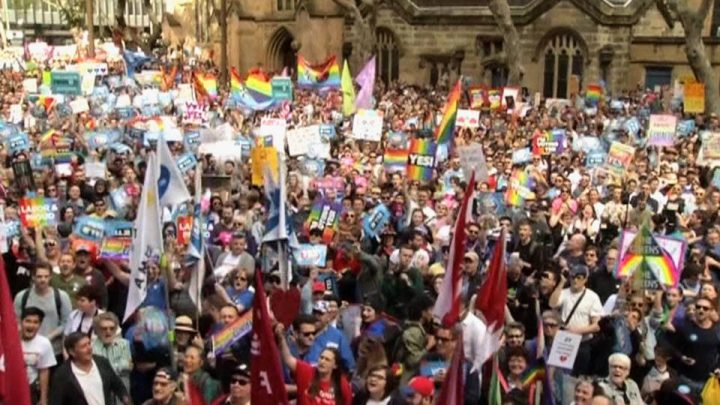Australia Holds Biggest Demonstration for LGBT Rights in Its History
