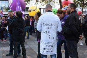 [Manifestations contre la loi travail – Reportage photo] Non aux travailleurs low cost