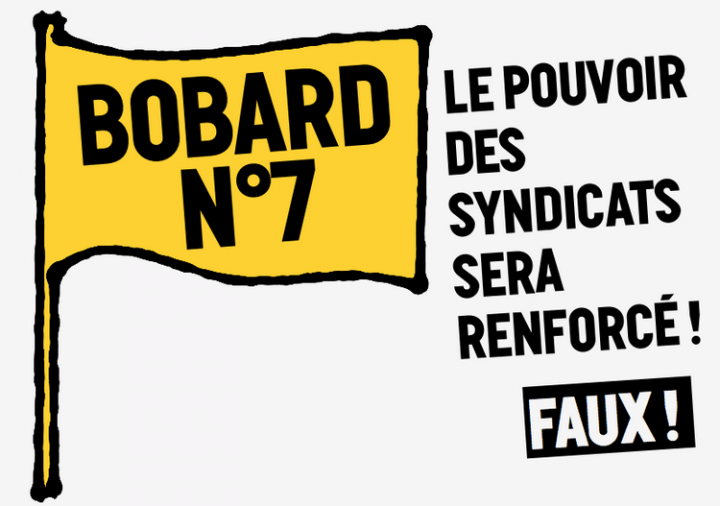 « Petit guide de résistance à la loi Travail XXL » : [8/9] Le pouvoir des syndicats sera renforcé !