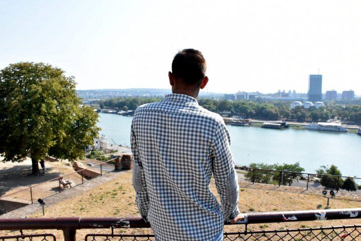 Refugiado en Belgrado