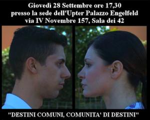 """Roma, femminicidio, evento """"Destini comuni, comunità di destini"""""""