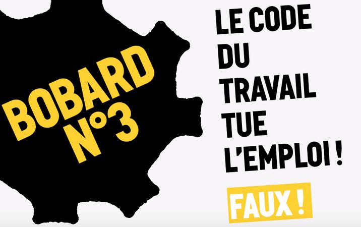 « Petit guide de résistance à la loi Travail XXL » : [4/9] Le code du travail tue l'emploi!