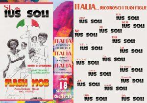 Cittadini per lo Ius Soli! Flash Mob a Milano