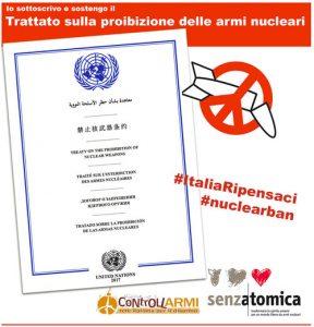 Aperto alla firma il Trattato sulla messa al bando delle armi nucleari: giorno storico per il disarmo