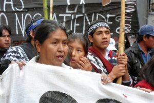 Carta pública por los derechos indígenas