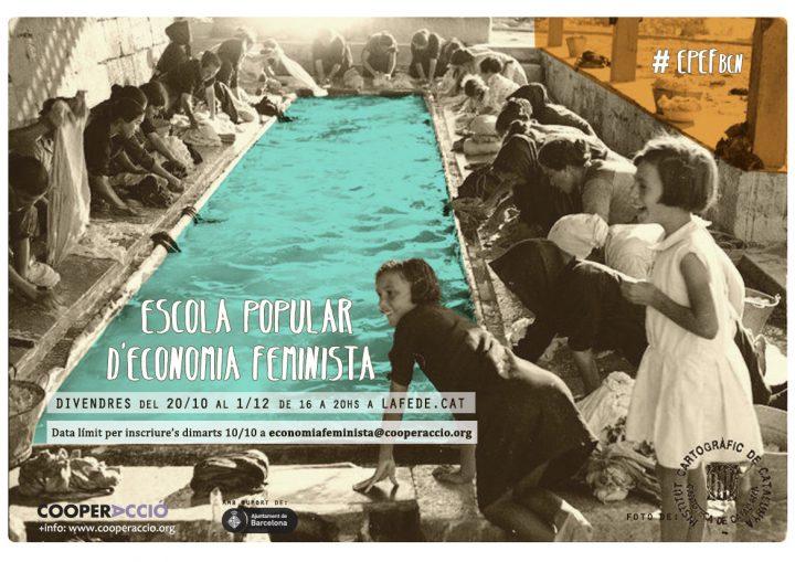 Nou curs a l'Escola Popular d'Economia Feminista a Barcelona