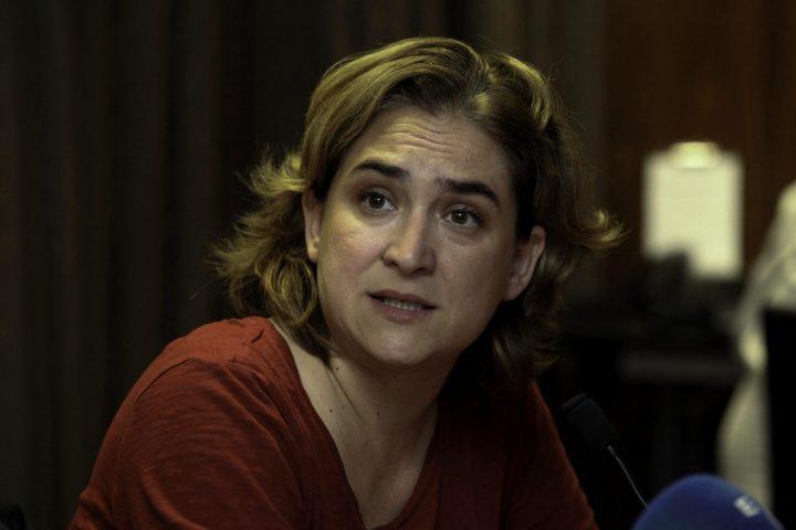 Ada Colau: «El Gobierno del PP insiste en su gran mentira»