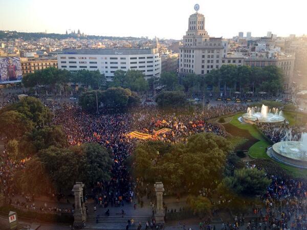 El estado español «pierde» la cordura en Cataluña