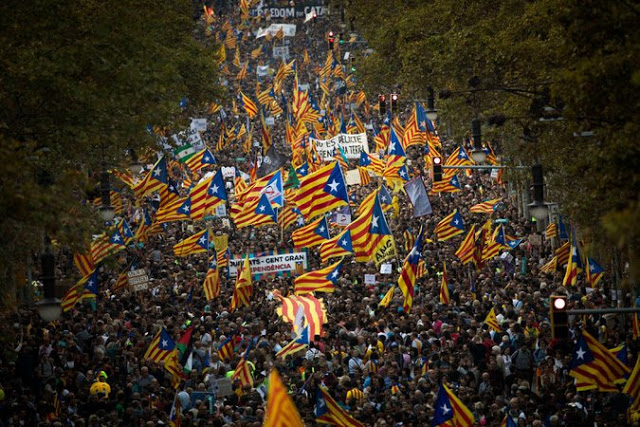 El octubre catalán