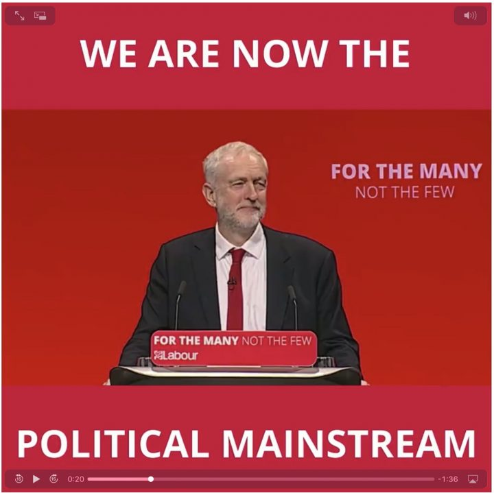 Jeremy Corbyn responde al discurso «más de lo mismo» de la Primera Ministra May
