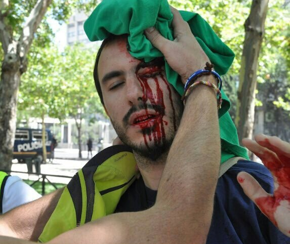 """""""Mr. Rajoy, thanks to you we are out of Spain… even though we didn't want to be."""""""