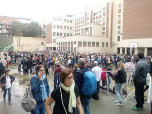 Catalonia: the people's peaceful response to police violence