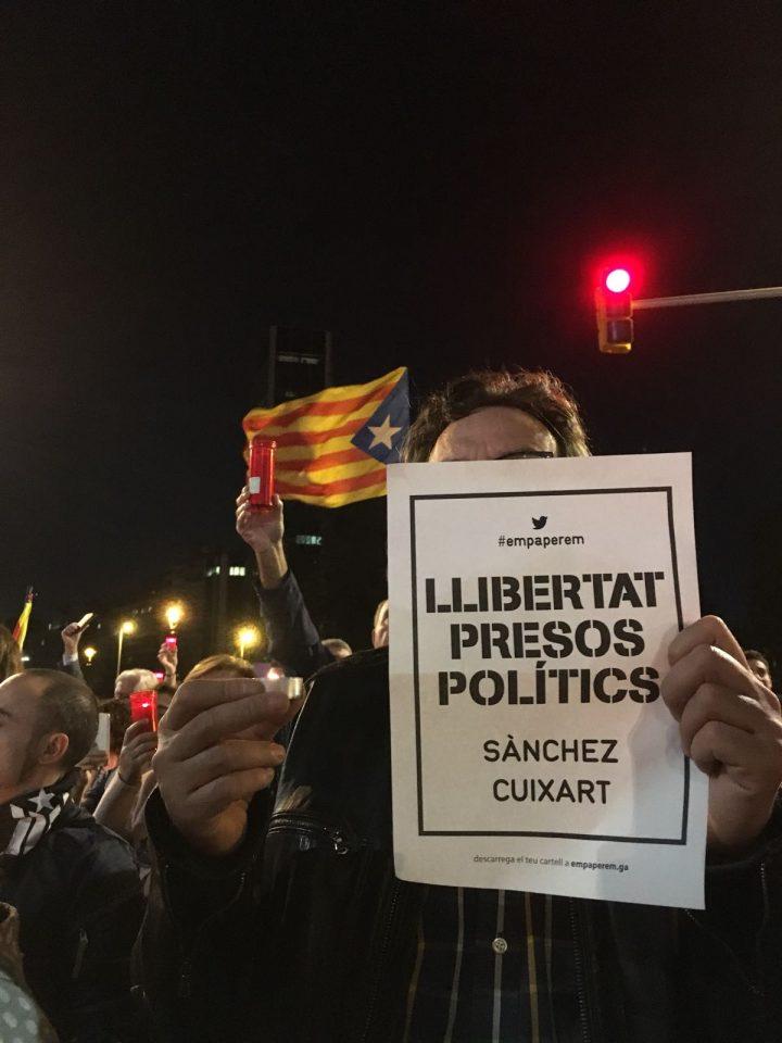 De la represión policial a la persecución política en Cataluña