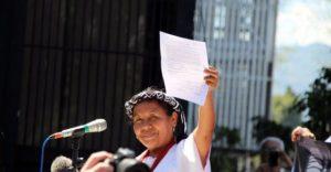 Candidata presidencial indígena en México llama a unificar la lucha de los pueblos originarios