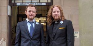 Activistas británicos no culpables tras intentar desarmar a aviones de combate que se dirigen a Yemen