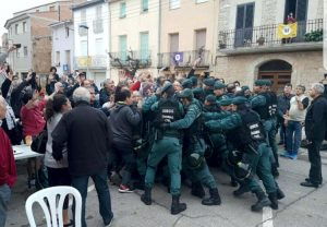 Spain tries everything to stop referendum, now with violence