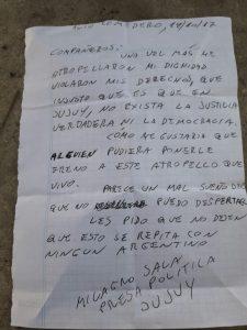 «Milagro Sala está secuestrada»