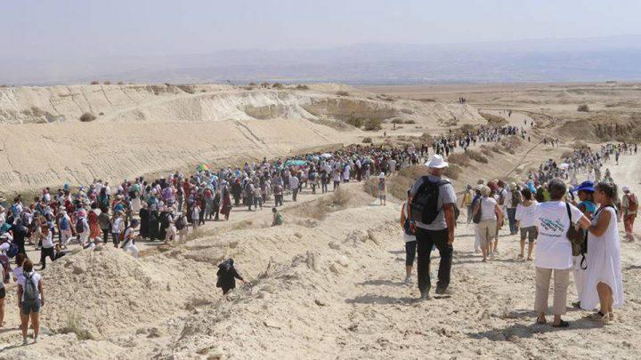 Tausende israelischer und palästinensischer Frauen marschieren für den Frieden