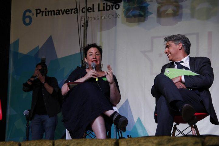 Desde Chile: una tarde con la candidata a Presidenta